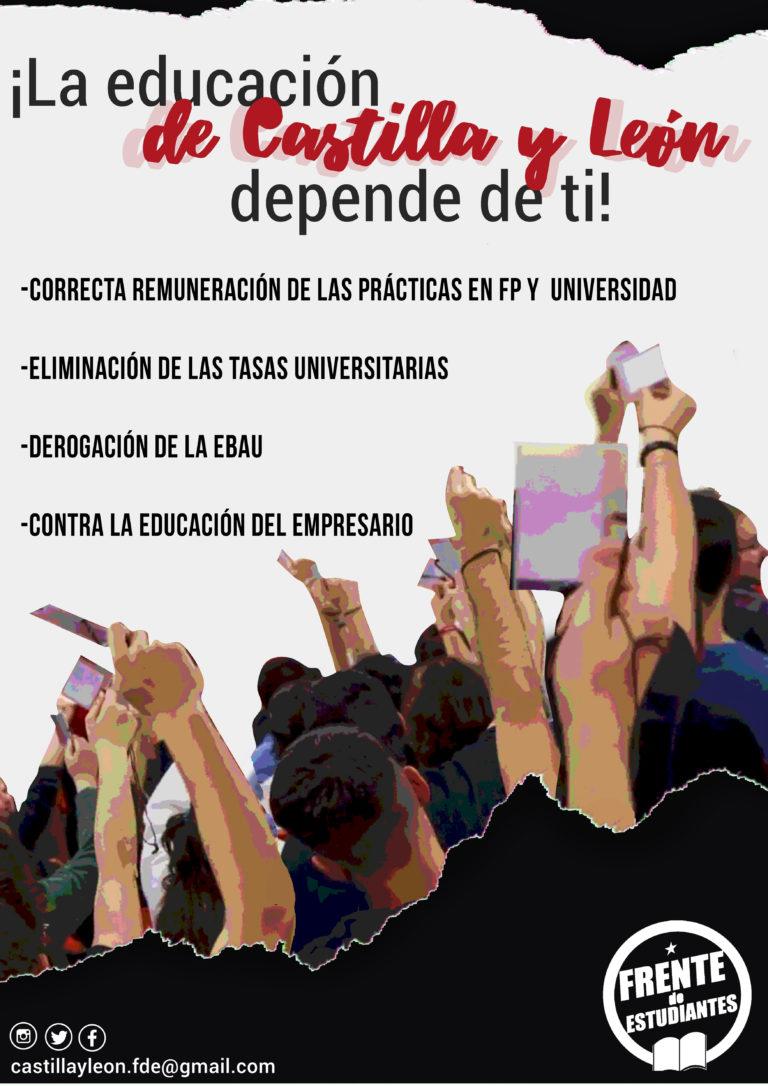 ¡La Educación en Castilla y León depende de ti!