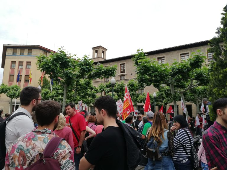 Comunicado en apoyo a la movilización de los docentes en Aragón