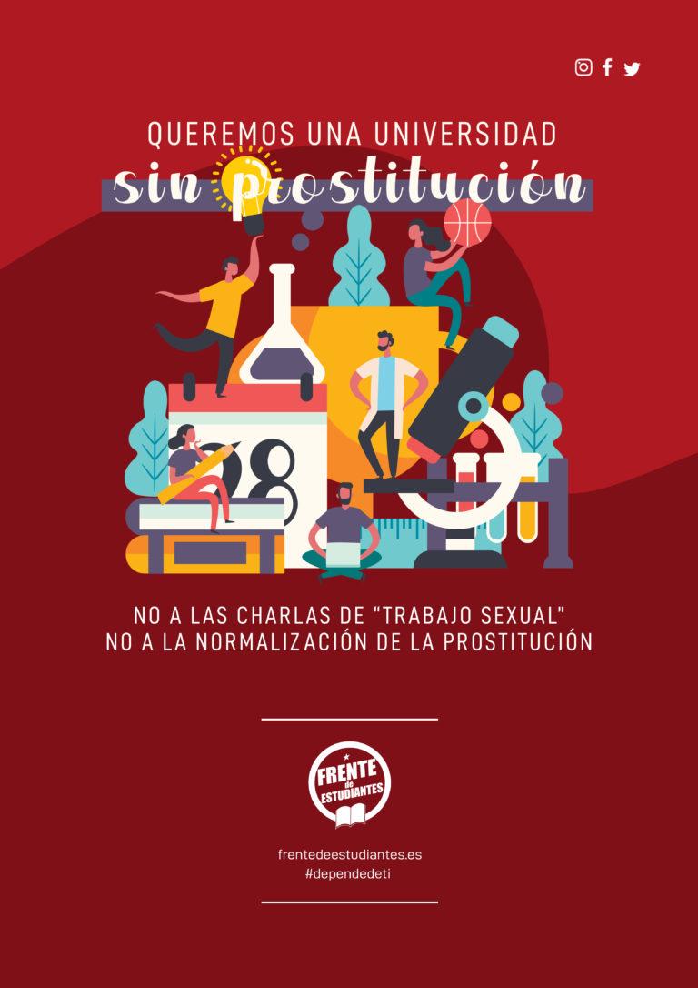 Rechazamos el debate sobre la prostitución en la universidad