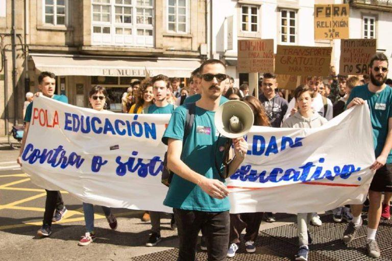 El Frente de Estudiantes avanza, ¡queda constituida la Dirección Nacional en Galicia!