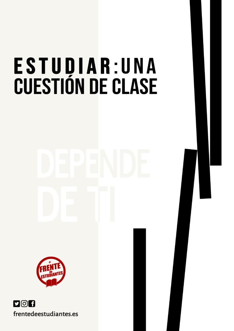 Sobre el inicio de curso y la convocatoria de huelga estudiantil en septiembre