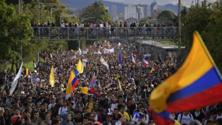 Solidaridad con el estudiantado y el pueblo colombiano